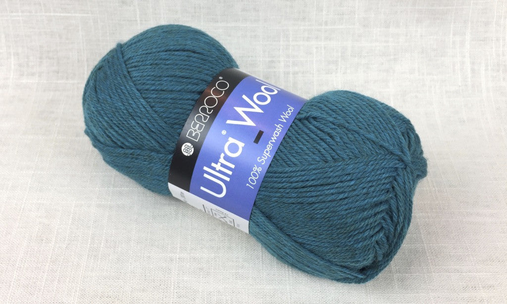 berroco ultra wool superwash 33139 verbena heathered green blue