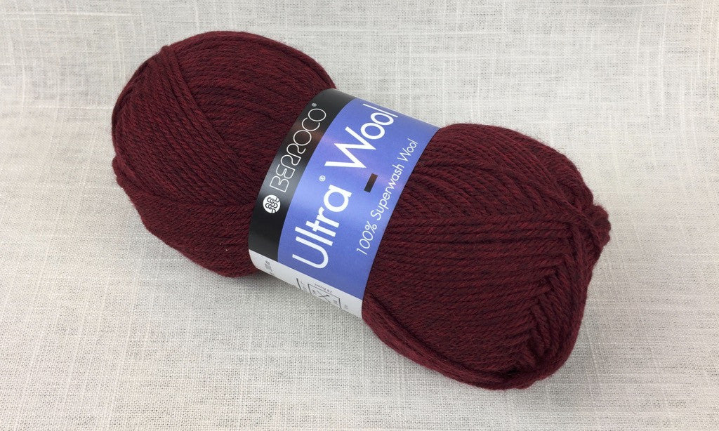 berroco ultra wool superwash 33145 sour cherry red