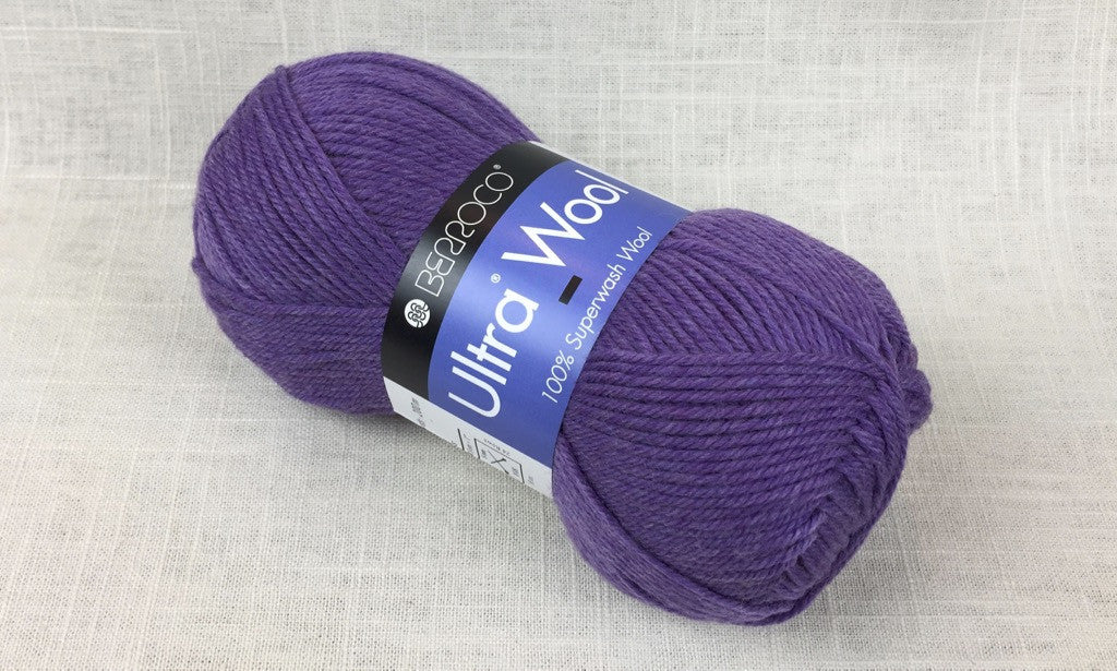 berroco ultra wool superwash 33146 aster heathered purple