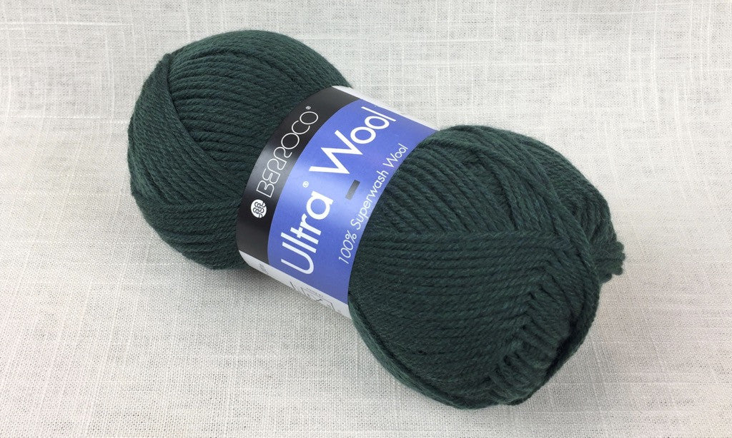 berroco ultra wool superwash 33149 pine heathered green