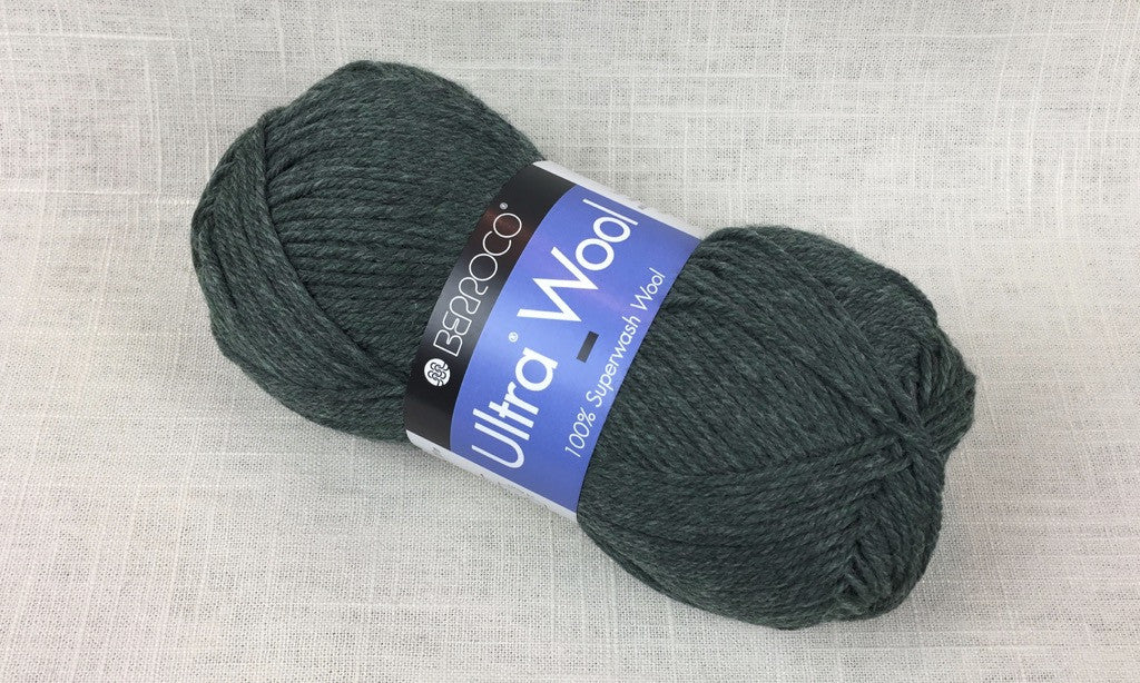 berroco ultra wool superwash 33158 rosemary heathered green