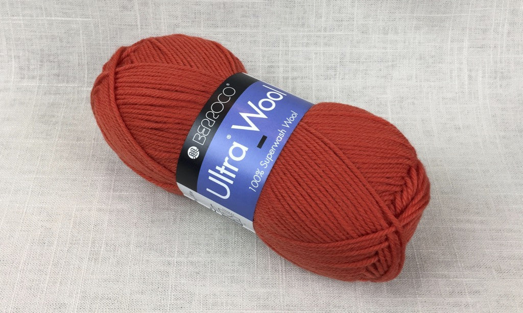 berroco ultra wool superwash 3336 nasturtium orange