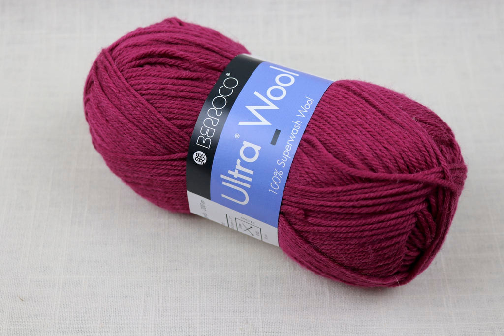 berroco ultra wool 3347 Cherry