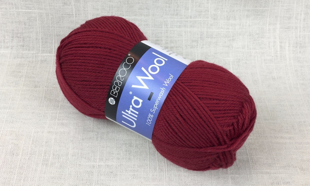 berroco ultra wool superwash 3355 juliet red