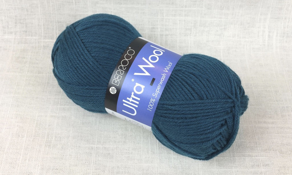 berroco ultra wool superwash 3361 kale green blue