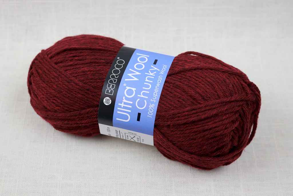 berroco ultra wool chunky 43145 sour cherry