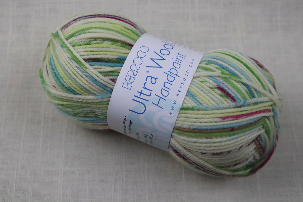 berroco ultra wool handpaint worsted 33303 mojito