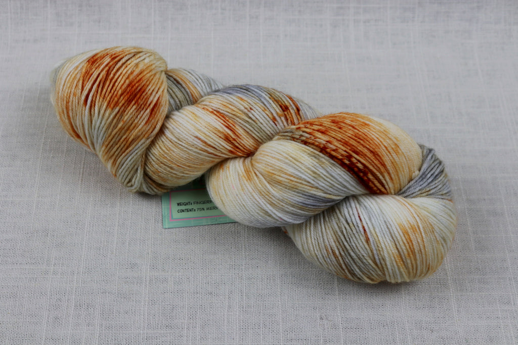 candy skein yummy fingering superwash wool bb-ate
