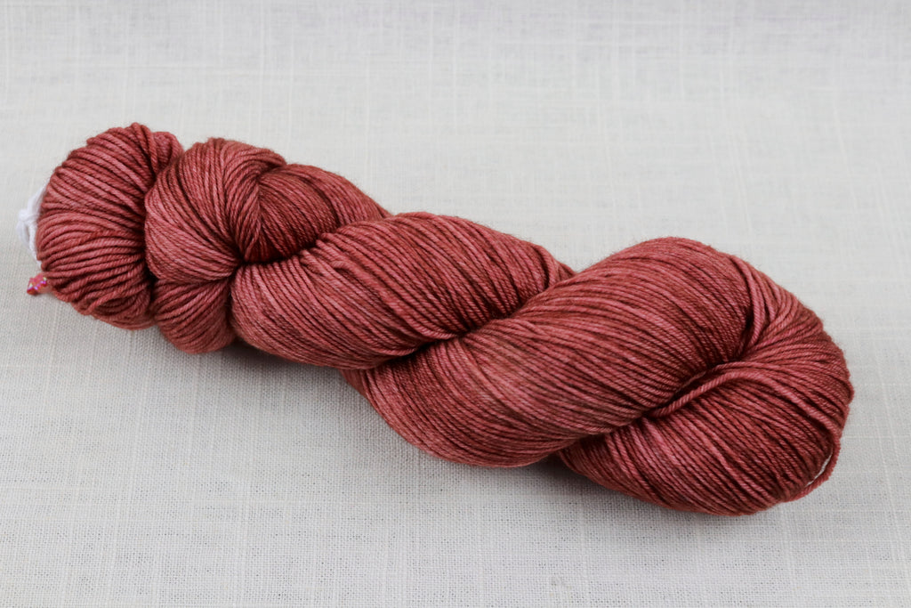candy skein yummy fingering superwash wool cherry cola