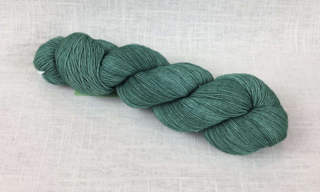 candy skein yummy fingering superwash wool emerald gumdrop green