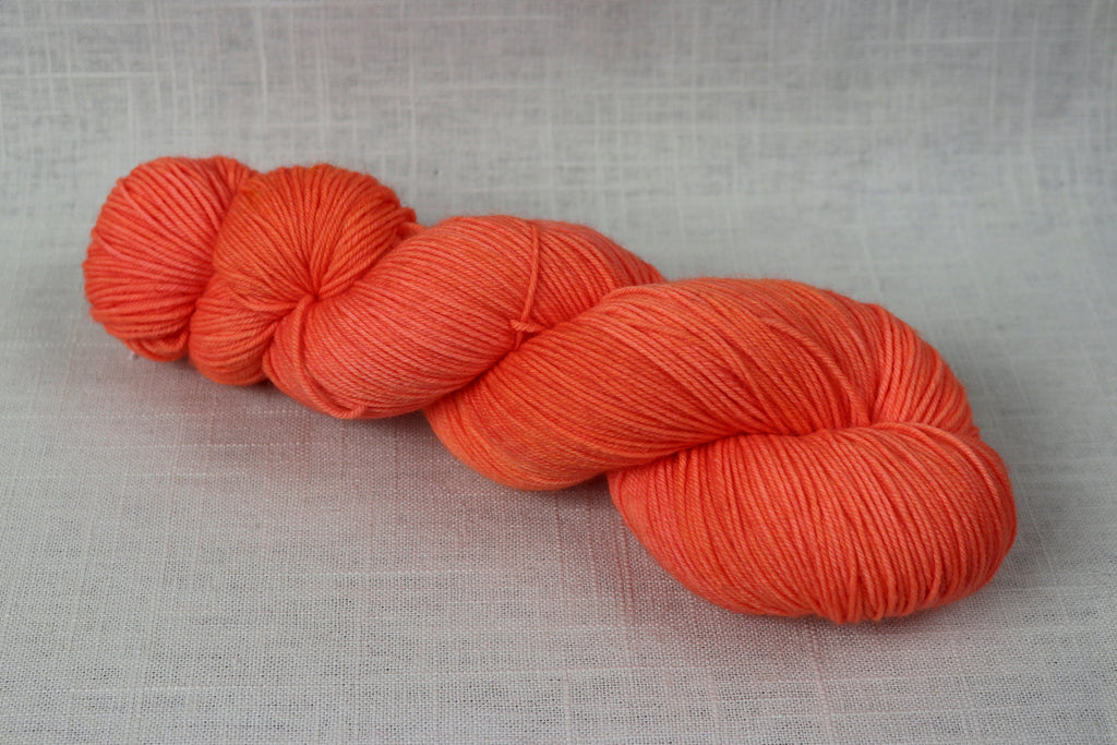 candy skein yummy fingering superwash wool guava