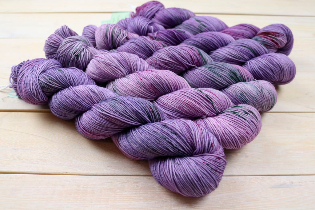 candy skein monthly yummy fingering eggplant november 2020