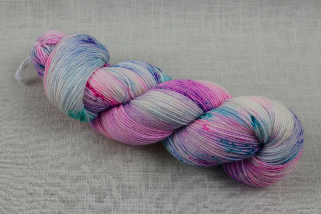 candy skein yummy fingering superwash wool unicorn gumball