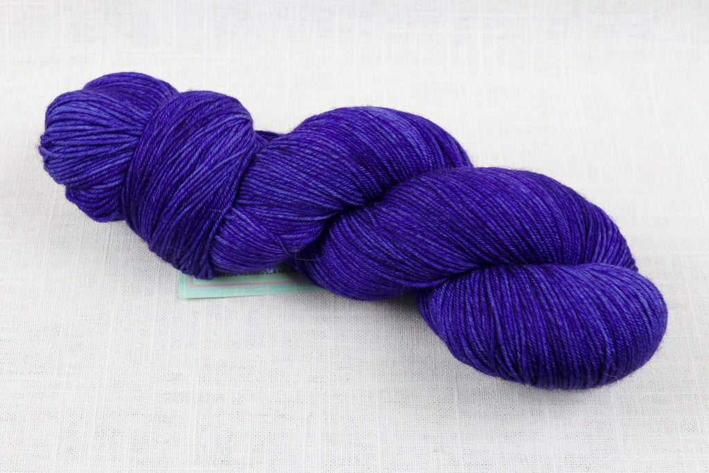 candy skein yummy fingering superwash wool violent violet lollipop