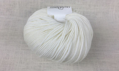 cascade 220 superwash light worsted DK 871 white