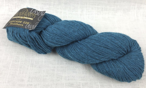 cascade yarns 220 wool worsted color 2433 pacific