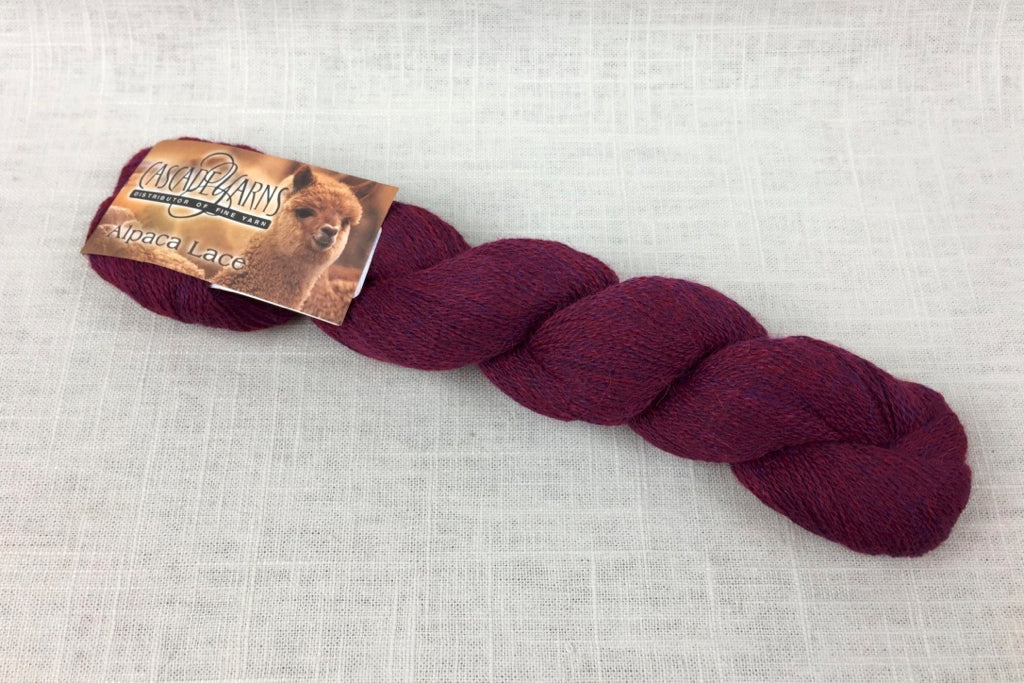 cascade alpaca lace 1426 chianti heather