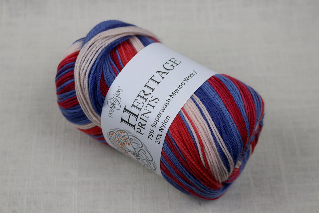 cascade yarns heritage prints 67 chicago stripe