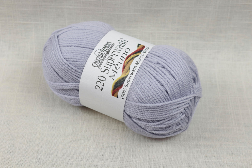 cascade yarns 220 superwash merino 55 arctic ice