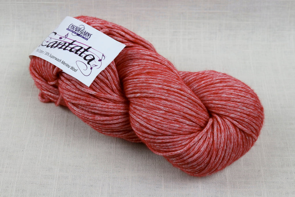 cascade yarns cantata 03 red