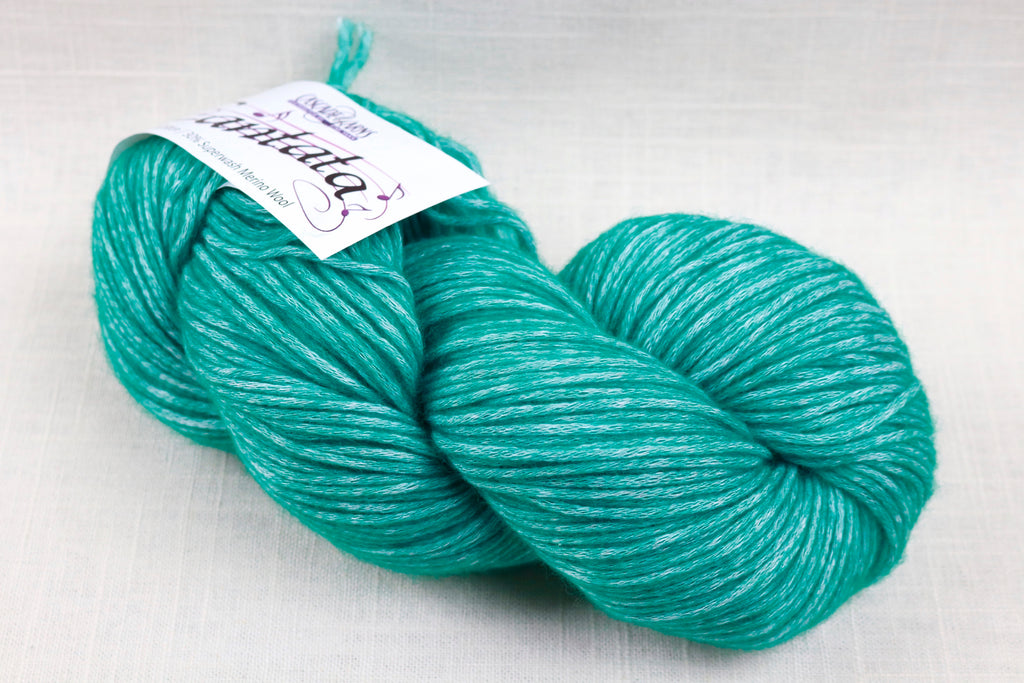 cascade yarns cantata 12 green teal
