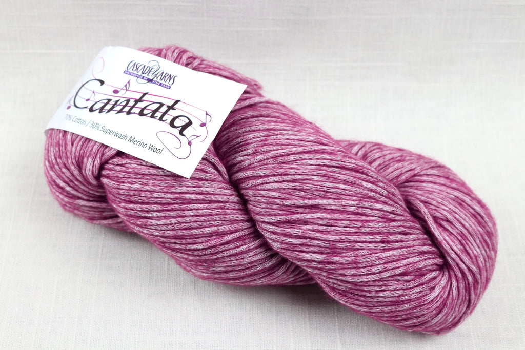 cascade yarns cantata 14 berry
