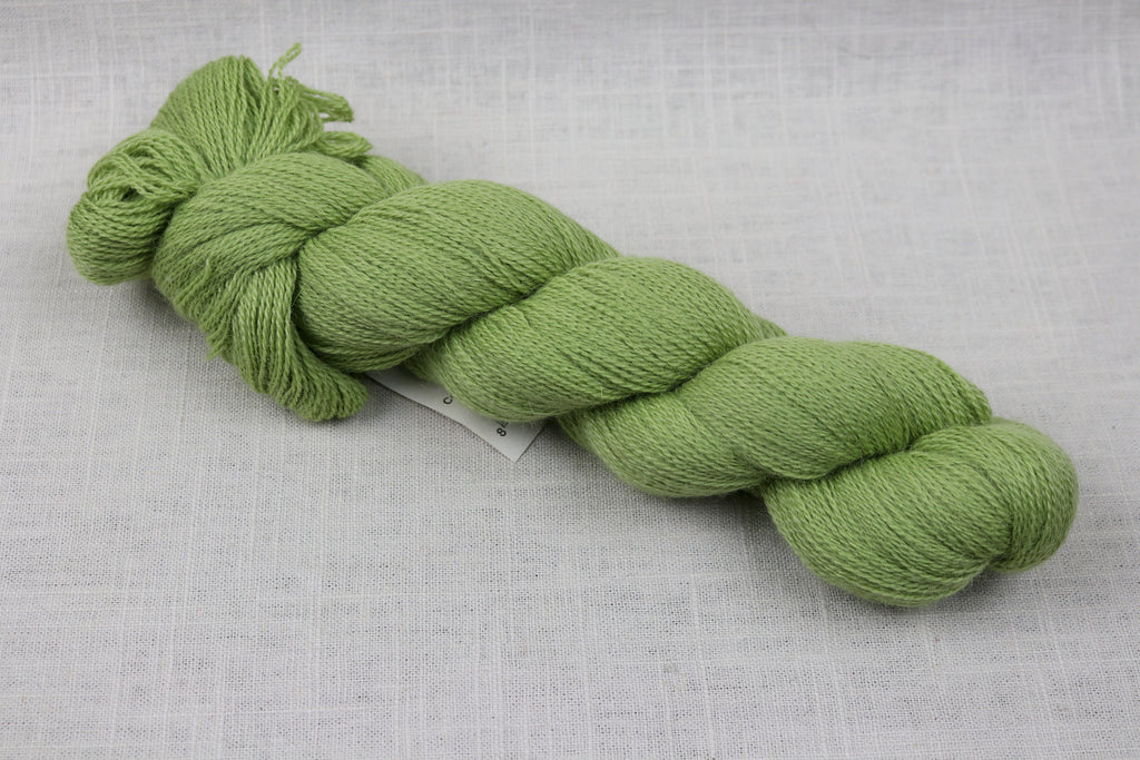 cascade yarns llama lace 15 golden lime