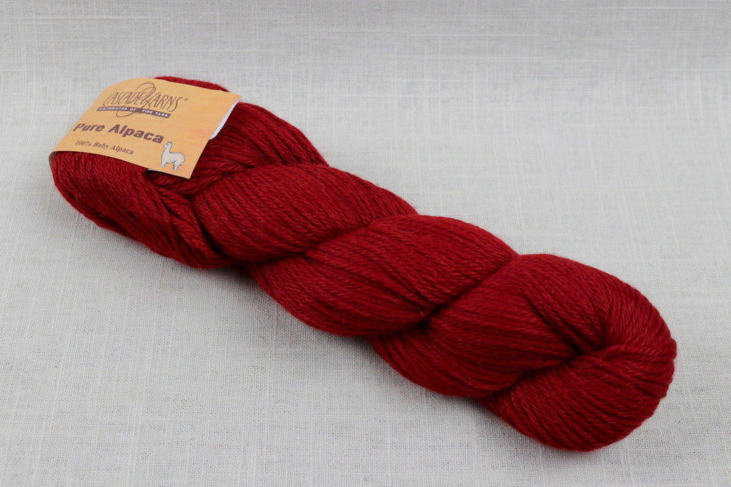 cascade yarns pure alpaca 3003 Ruby
