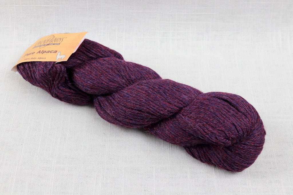 cascade yarns pure alpaca 3082 brambleberry heather