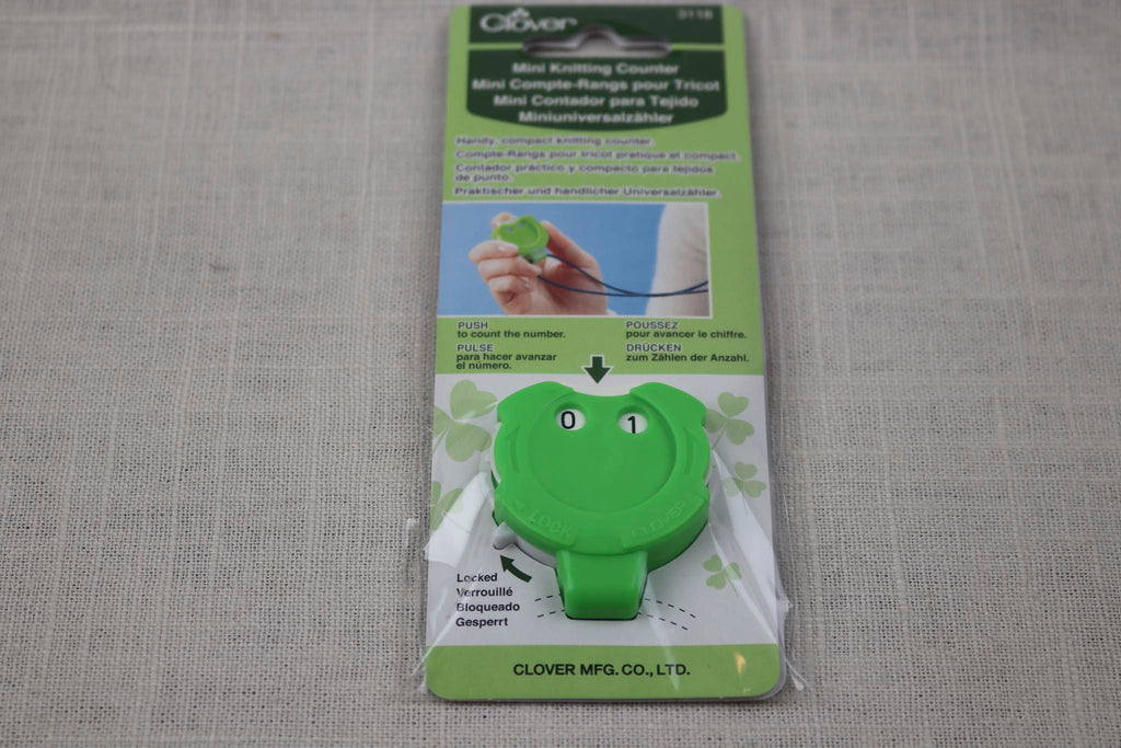 clover mini knitting counter No. 3118