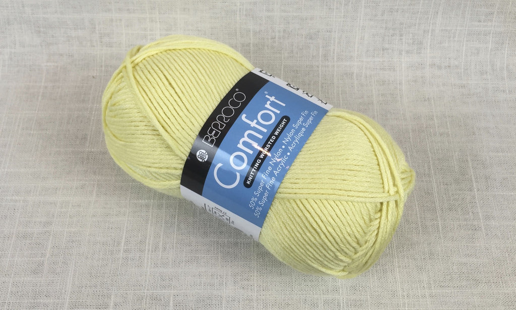 berroco comfort worsted 9712 buttercup