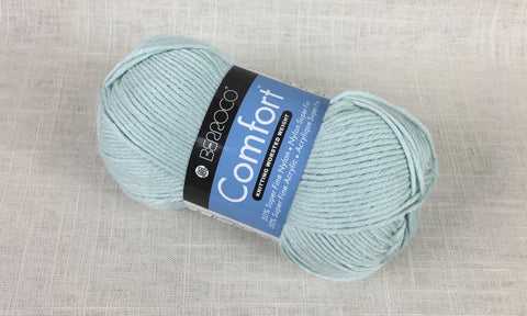 berroco comfort worsted 9714 robins egg blue