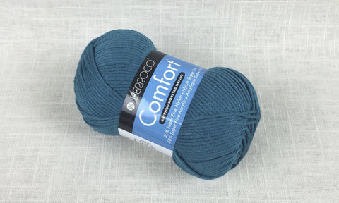 berroco comfort worsted 9725 dutch teal