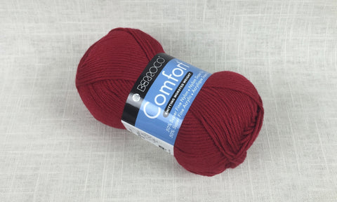 berroco comfort worsted 9750 primary red
