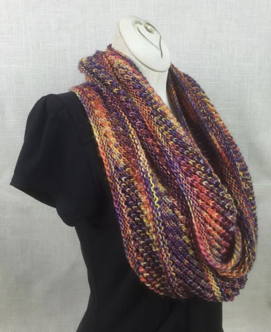 malabrigo mechita single ply copilot cowl color 850 archangel