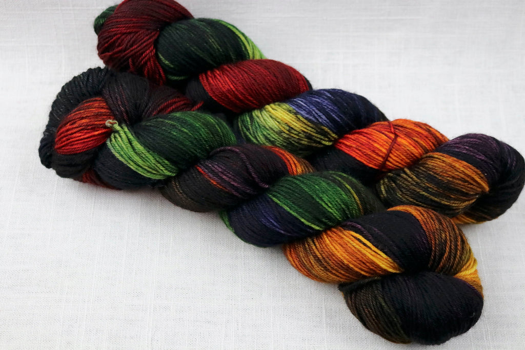 Dragonfly Fibers Damsel Sport Dark Rainbow