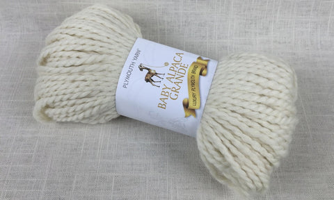 plymouth yarn baby alpaca grande super bulky 100 natural