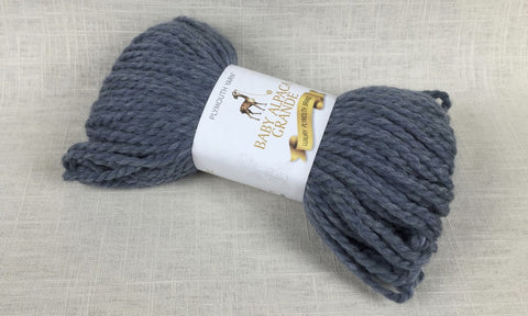 plymouth yarn baby alpaca grande super bulky 635 chambray blue
