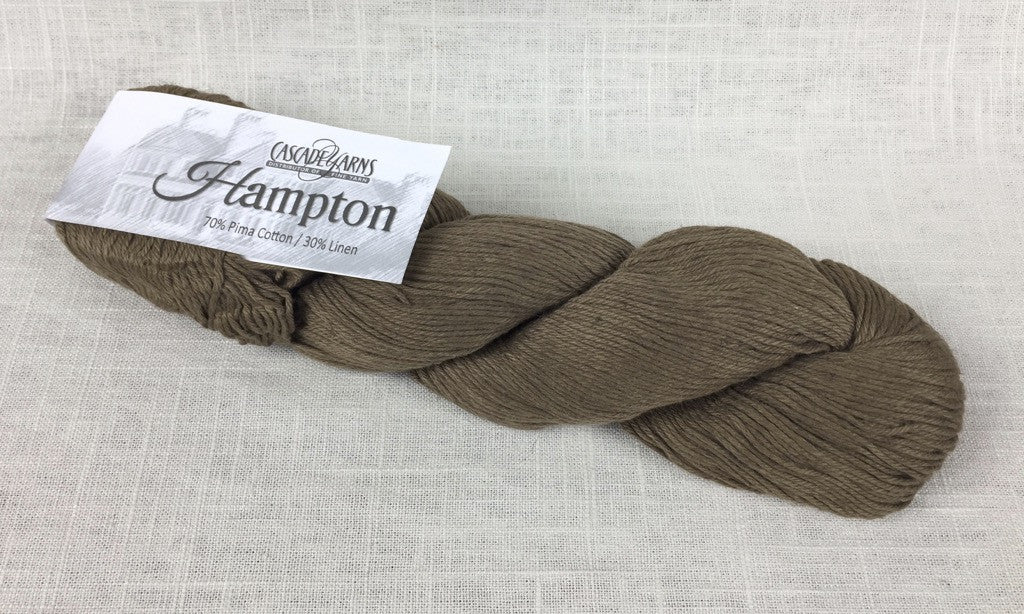 cascade yarns hampton linen cotton DK 09 brindle