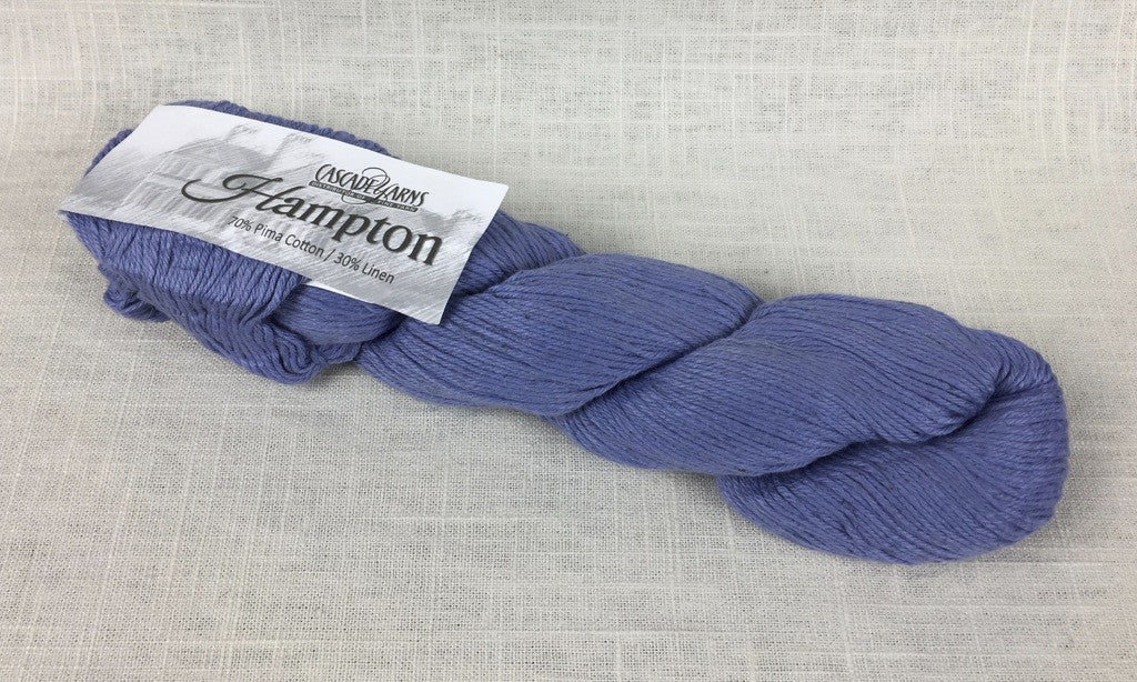 cascade yarns hampton linen cotton DK 11 denim