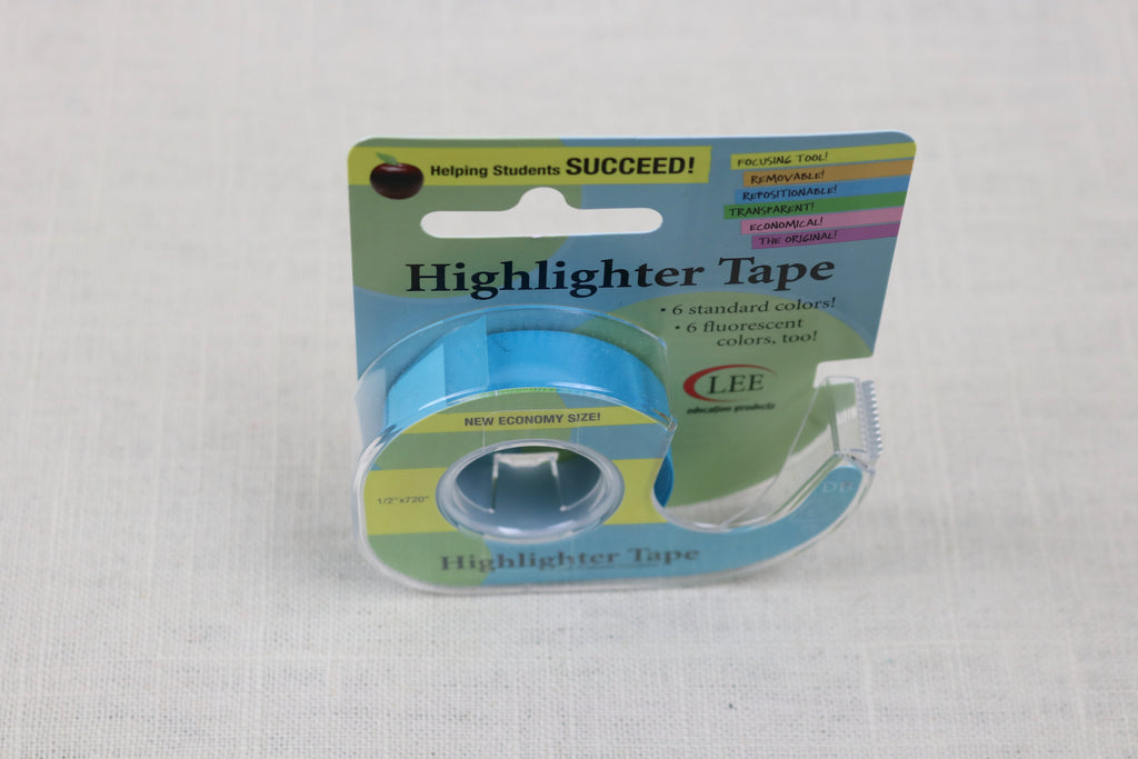 econo highlighter tape blue