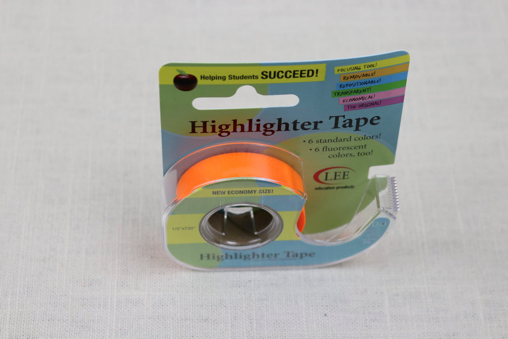 econo highlighter tape orange