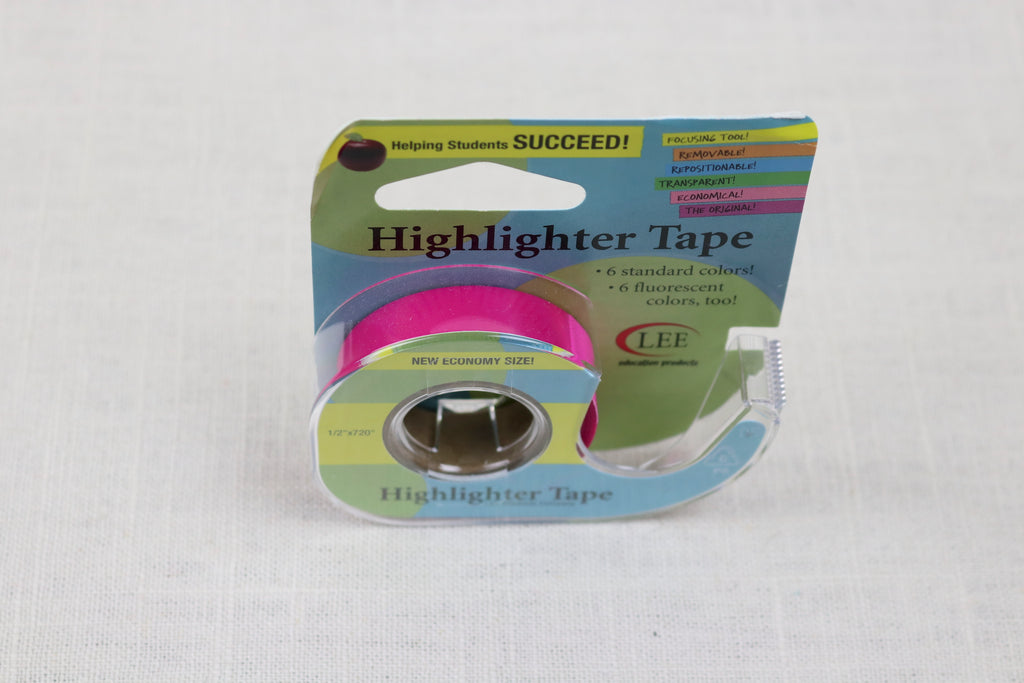 econo highlighter tape purple