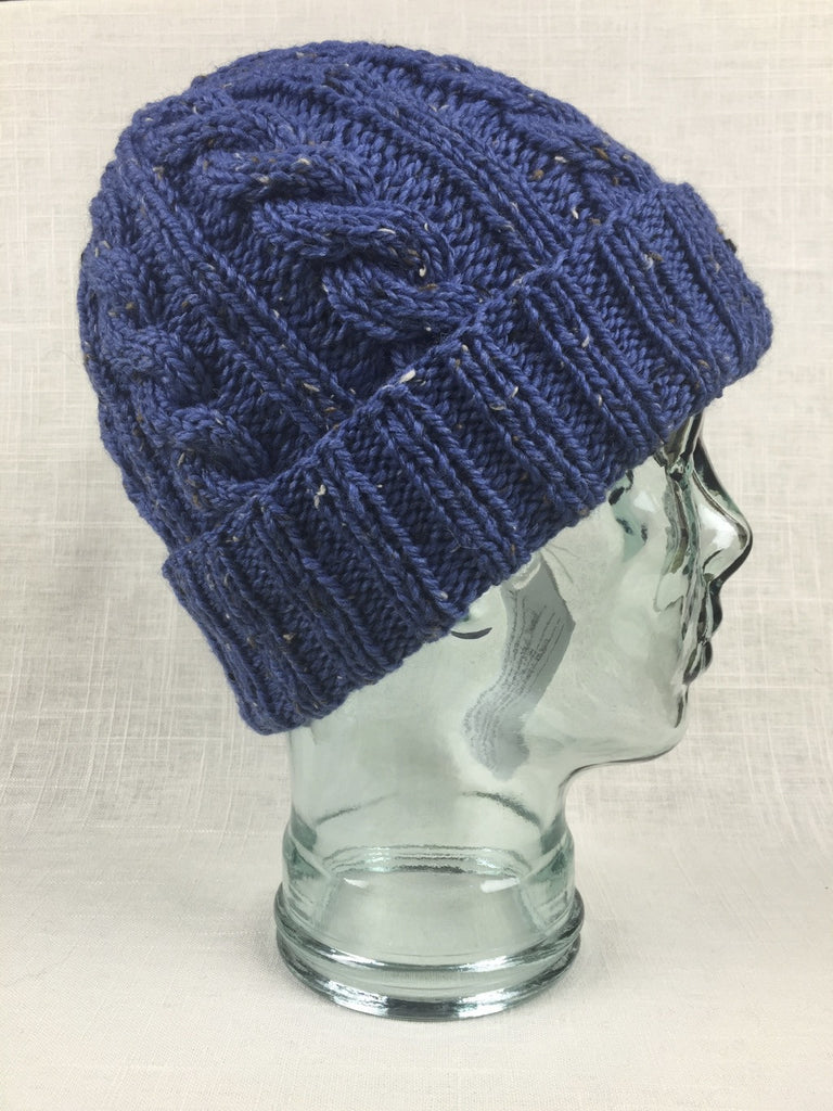 jason's cashmere hat plymouth homestead tweed colonial blue 528