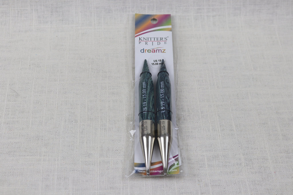 knitters pride 5 inch interchangeable tips US 19 (15mm)