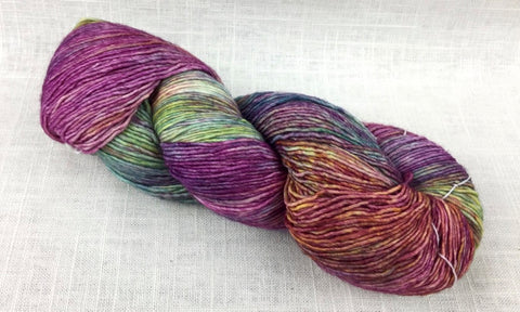 malabrigo mechita single ply fingering MTA866 arco iris