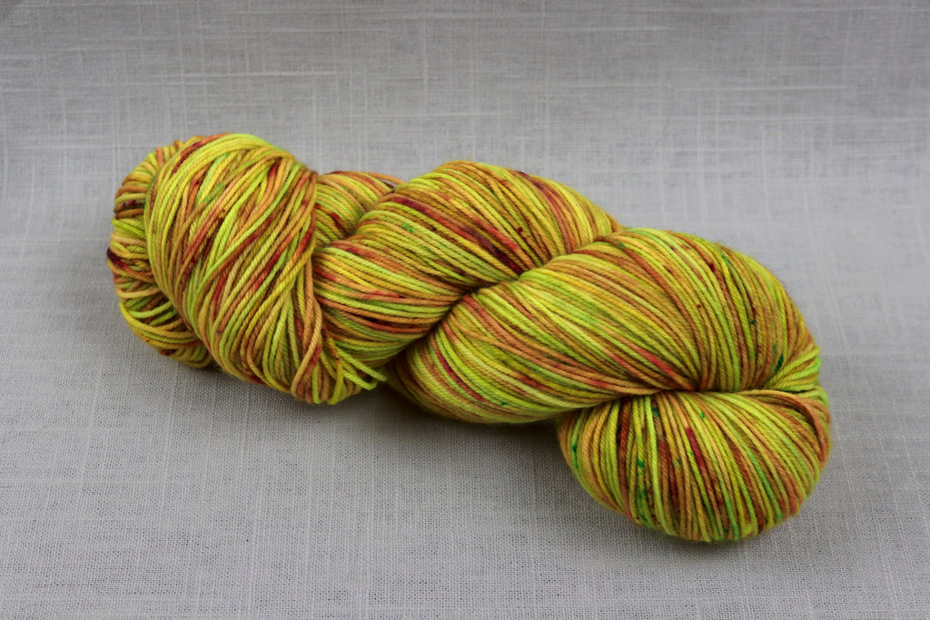 ryberry yarns signature fingering radioactive unicorn