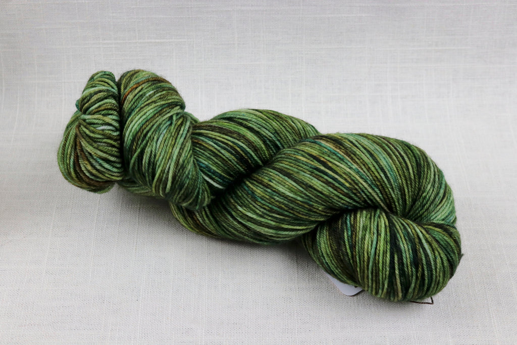 ryberry yarns signature fingering tobacco road