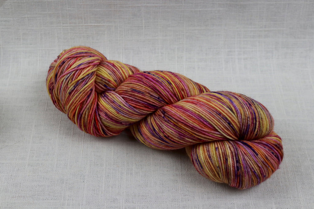 ryberry yarns signature fingering tootie fruitie