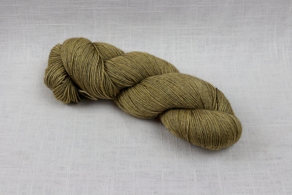 ryberry yarns merino/yak/silk olive oil
